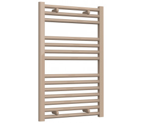 Reina Diva Latte Straight Heated Towel Rail 800mm x 500mm