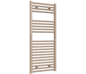 Reina Diva Latte Straight Heated Towel Rail 1200mm x 500mm