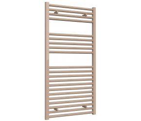 Reina Diva Latte Straight Heated Towel Rail 1200mm x 600mm