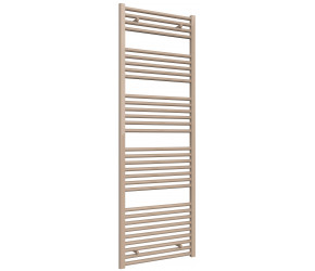Reina Diva Latte Straight Heated Towel Rail 1800mm x 600mm