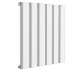 Reina Vicari White Aluminium Single Panel Horizontal Radiator 600mm x 600mm