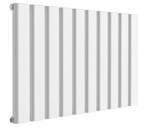 Reina Vicari White Aluminium Single Panel Horizontal Radiator 600mm x 1000mm