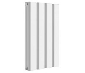 Reina Vicari White Aluminium Double Panel Horizontal Radiator 600mm x 400mm