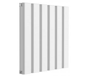 Reina Vicari White Aluminium Double Panel Horizontal Radiator 600mm x 600mm