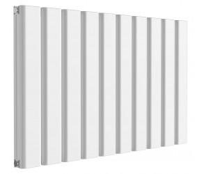 Reina Vicari White Aluminium Double Panel Horizontal Radiator 600mm x 1000mm