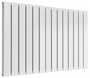 Reina Flat White Double Panel Horizontal Radiator 600mm High x 1032mm Wide