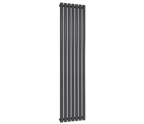 Reina Neva Single Panel Designer Radiator 1800mm x 413mm Anthracite