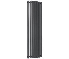 Reina Neva Single Panel Designer Radiator 1500mm x 413mm Anthracite