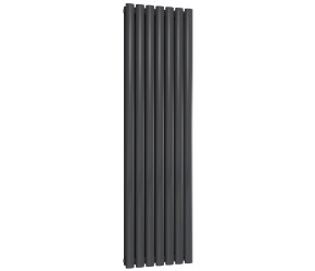 Reina Neva Double Panel Designer Radiator 1500mm x 413mm Anthracite