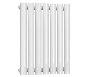 Reina Neva Single Panel Designer Horizontal Radiator 550mm High x 413mm Wide White