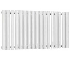Reina Neva Single Panel Designer Radiator 550mm x 1003mm White