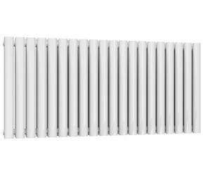 Reina Neva Double Panel Designer Radiator 550mm x 1180mm White