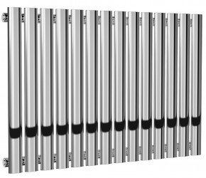 Reina Neva Single Panel Chrome Designer Radiator 550mm x 826mm