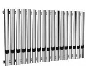 Reina Neva Single Panel Chrome Designer Radiator 550mm x 1003mm