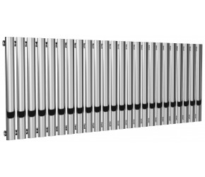 Reina Neva Single Panel Chrome Designer Radiator 550mm x 1180mm