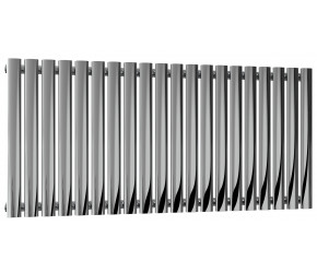 Reina Nerox Polished Stainless Steel Single Panel Radiator 600mm x 1180mm