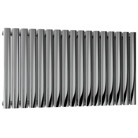 Reina Nerox Polished Stainless Steel Double Panel Radiator 600mm x 1003mm