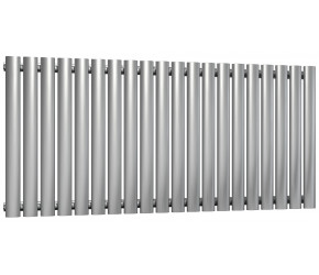 Reina Nerox Brushed Stainless Steel Single Panel Radiator 600mm x 1180mm