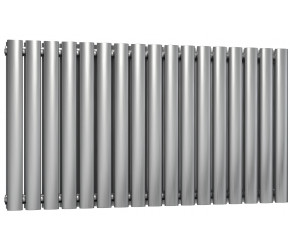 Reina Nerox Brushed Stainless Steel Double Panel Radiator 600mm x 1003mm