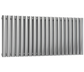 Reina Nerox Brushed Stainless Steel Double Panel Radiator 600mm x 1180mm
