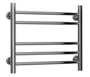 Reina Luna Stainless Steel Towel Rail Straight 430mm High x 500mm Wide