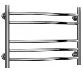 Reina Eos Stainless Steel Towel Rail Curved 430mm High x 600mm Wide