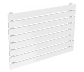 Reina Rione Single Panel Designer Radiator 550mm High X 800mm Wide White