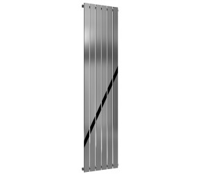 Reina Osimo Designer Chrome Radiator 1800mm High X 430mm Wide