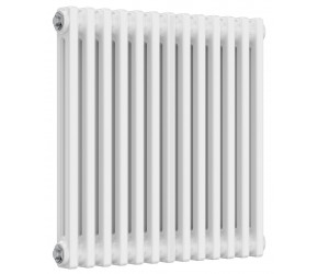 Reina Colona 2 Column Horizontal Column Radiator - 600mm x 605mm