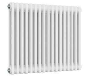 Reina Colona 2 Column Horizontal Column Radiator - 600mm x 785mm