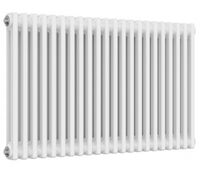Reina Colona 2 Column Horizontal Column Radiator - 600mm x 1010mm