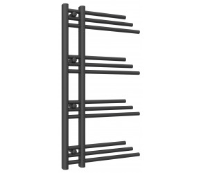 Reina Palmari Anthracite Designer Heated Towel Rail 900mm x 500mm