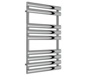Reina Arbori Chrome Designer Towel Rail 820mm x 500mm