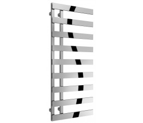 Reina Florina 1235mm x 500mm Chrome Heated Towel Rail