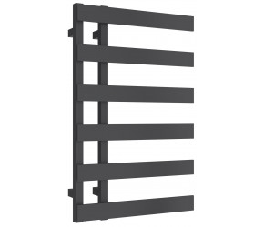 Reina Florina Anthracite Designer Heated Towel Rail 800mm x 500mm