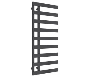 Reina Florina Anthracite Designer Heated Towel Rail 1235mm x 500mm