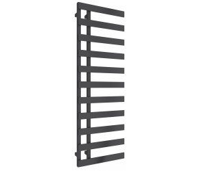 Reina Florina Anthracite Designer Heated Towel Rail 1525mm x 500mm