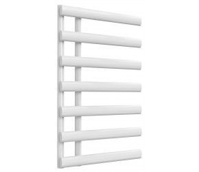 Reina Grace White Designer Heated Towel Rail 780mm x 500mm