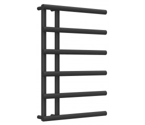 Reina Matera Anthracite Designer Heated Towel Rail 722mm x 500mm
