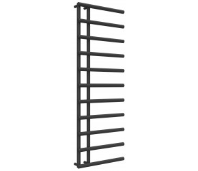 Reina Matera Anthracite Designer Heated Towel Rail 1412mm x 500mm