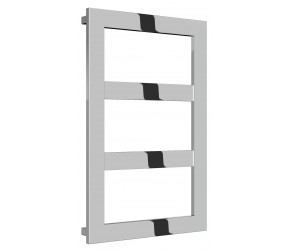 Reina Rima Polished Stainless Steel Towel Rail 780mm x 500mm