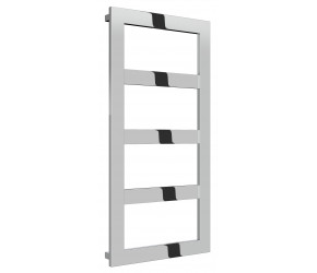 Reina Rima Polished Stainless Steel Towel Rail 1020mm x 500mm