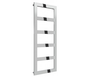 Reina Rima Polished Stainless Steel Towel Rail 1260mm x 500mm