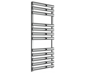 Reina Veroli Polished Aluminium Designer Towel Rail 1190mm x 480mm