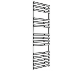 Reina Veroli Polished Aluminium Designer Towel Rail 1550mm x 480mm