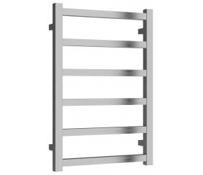 Reina Fano Brushed Aluminium Designer Towel Rail 720mm x 485mm