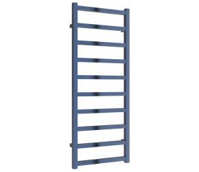 Reina Fano Blue Satin Aluminium Designer Towel Rail 1240mm x 485mm