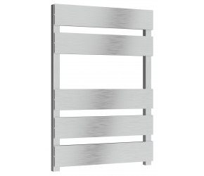 Reina Fermo Brushed Aluminium Designer Towel Rail 710mm x 485mm
