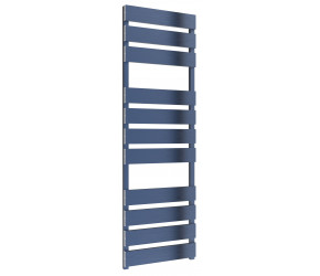 Reina Fermo Blue Satin Aluminium Designer Towel Rail 1550mm x 485mm