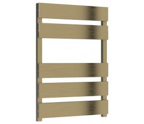 Reina Fermo Bronze Satin Aluminium Designer Towel Rail 710mm x 485mm